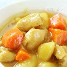 土豆咖哩鸡