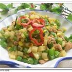 土豆玉米粒