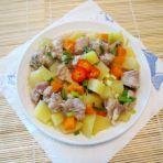 土豆蒸排骨
