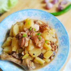 土豆炖鸭块