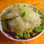 豌豆炒银耳的做法