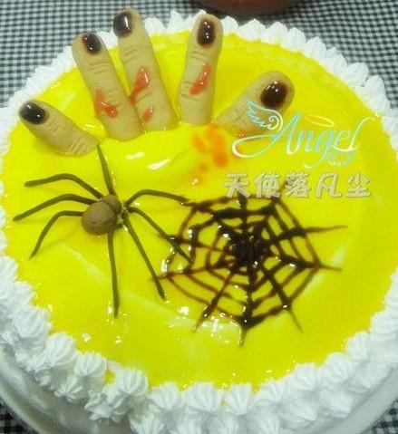 万圣节恐怖蛋糕