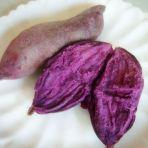 微波炉蒸紫薯
