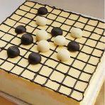 围棋慕斯蛋糕的做法