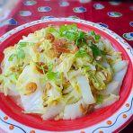 虾米炒大白菜