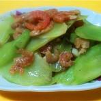 虾米炒莴笋的做法