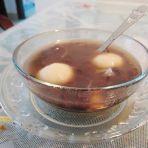 鲜百合汤圆红豆沙