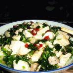 香菜豆腐的做法