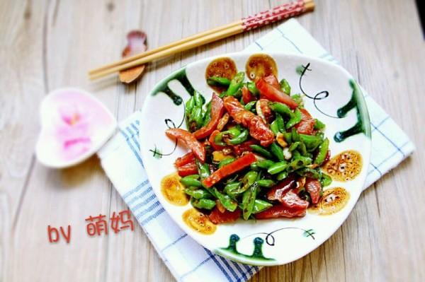 湘菜辣炒瘦肉条