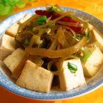 香葱海带烧豆腐
