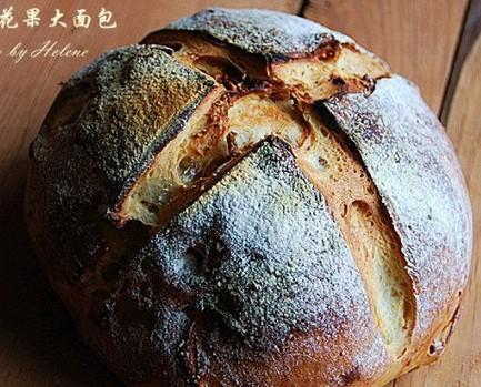 乡村无花果大面包