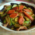香菇炒西葫