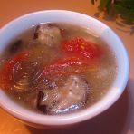 香菇粉条面筋汤