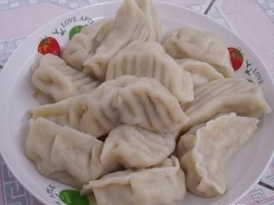香菇木耳猪肉水饺