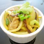 香菇肉丝炒佛手瓜的做法