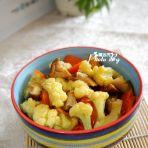 香菇烧菜花