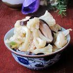 香菇烧花菜