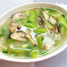 香菇丝瓜汤