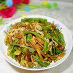 香菇榨菜肉丝