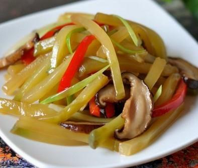 香菇榨菜条