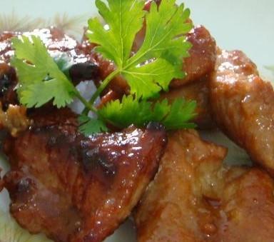 香煎火鸡腿肉