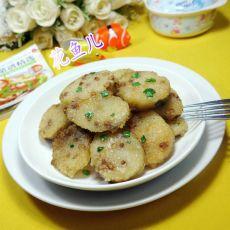 香煎绿豆糯米粽