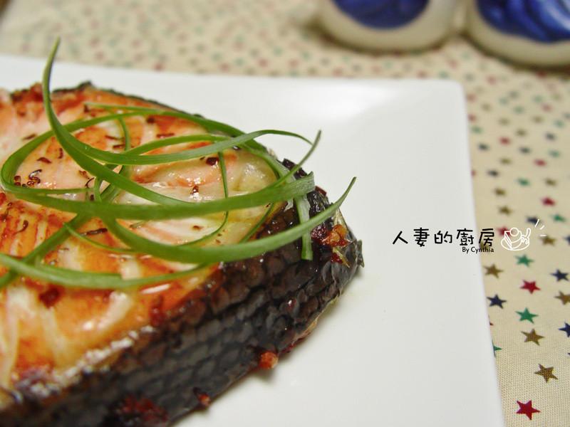 香煎奶油鲑鱼的做法