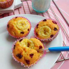 香蕉蔓越莓玛芬
