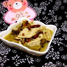 香辣酸菜肉片