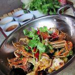 香辣蟹火锅的做法