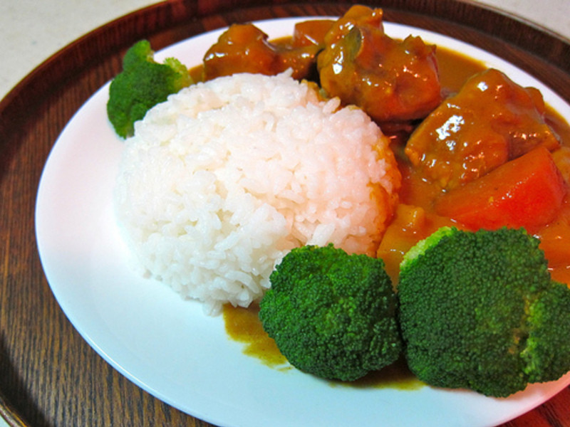 香浓可口的日式咖哩鸡