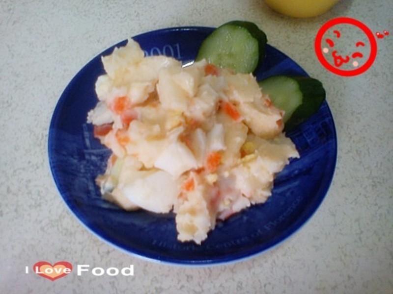 香苹薯泥沙拉的做法