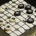 象棋水果奶油蛋糕