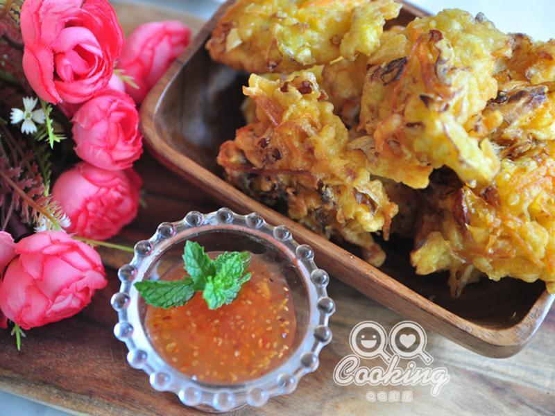 香酥综和蔬菜饼