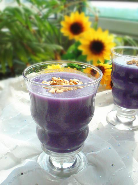 香甜紫薯米糊