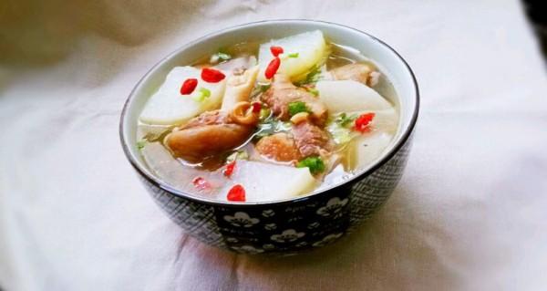 鲜美羊肉汤