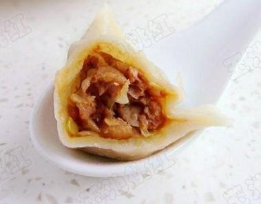 鲜肉大白菜饺子