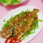 鲜味焗鲈鱼的做法