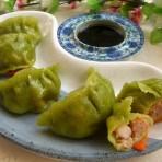 鲜虾豆苗饺