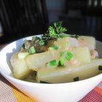 咸虾酱焖老节瓜