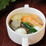 鲜虾三鲜汤