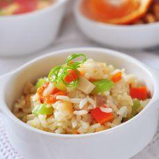 鲜虾什锦烩饭