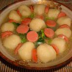 小白菜鱼丸汤