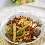 小炒五香牛肉豆干