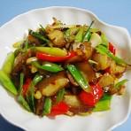 小炒油锅肉