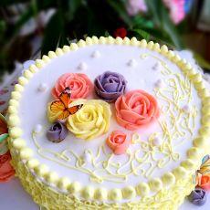 小清新裱花蛋糕