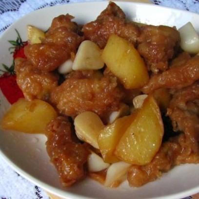 小酥肉炖土豆