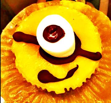 小小兵蛋糕