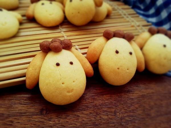 小羊曲奇饼干