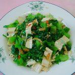 虾皮拌芥菜